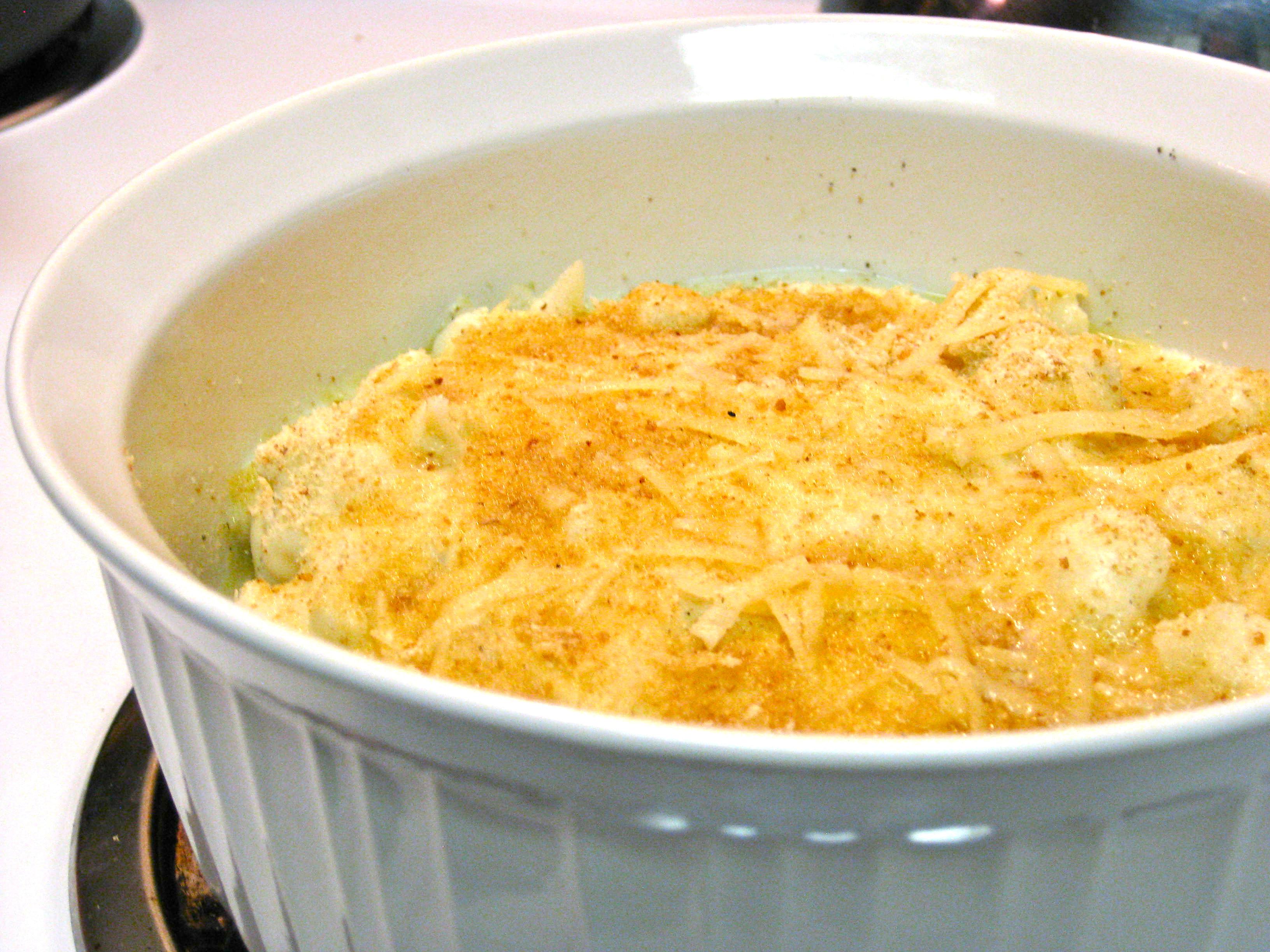 Cauliflower au gratin | My Baker's Dozen